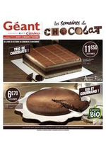 Prospectus Géant Casino : Les semaines du chocolat