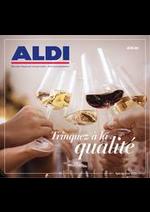 Prospectus Aldi : Trinquez à la qualité