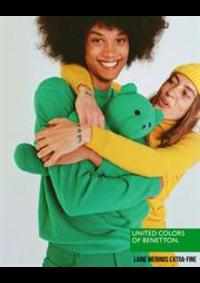 Prospectus United Colors of Benetton Bruxelles - Av Louise  : Laine Merinos Extra-Fine / Homme