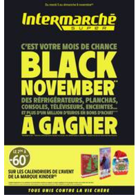 Prospectus Intermarché Super Bondy : BLACK NOVEMBER