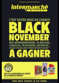 Prospectus Intermarché Super Bruz : BLACK NOVEMBER