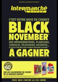 Prospectus Intermarché Super Villeneuve le Roi : BLACK NOVEMBER