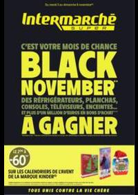 Prospectus Intermarché Super Chantepie : BLACK NOVEMBER
