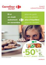 Promos et remises Carrefour Market : Manger Sain