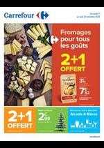 Prospectus Carrefour : Fromages pour tous les goûts