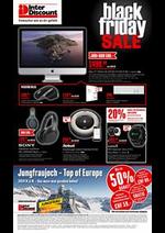 Promos et remises Inter Discount : Interdiscount Black Friday Offers