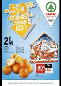Prospectus Spar VILLEMOMBLE : -50% sur le 2ème, Spar ici !