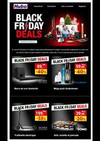 Promos et remises Hubo Andenne : Offre Hubo Black Friday