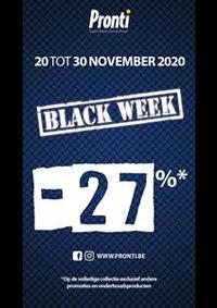 Prospectus Pronti Bruxelles Neuve : Offre Pronti Black Friday