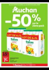 Prospectus Auchan BAGNOLET : Encore des bons plans!