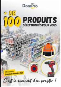 Prospectus Dompro BOBIGNY : + de 100 produits sélectionnés pour vous