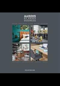 Prospectus Maisons du Monde Jemappes : Business Collection 2020