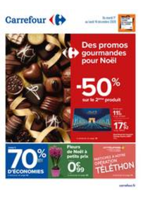 Prospectus Carrefour AULNAY SOUS BOIS : Des promos gourmandes pour Noël