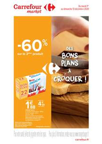 Prospectus Carrefour Market VILLENEUVE D'ASCQ : Des bons plans à croquer