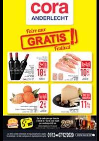 Prospectus Cora ANDERLECHT : Les offres alimentaire du 01-12