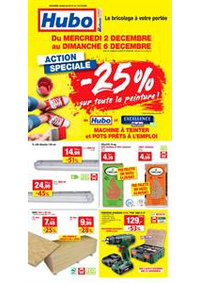 Prospectus Hubo Andenne : Action Speciale