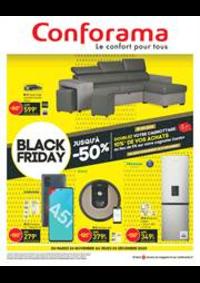 Prospectus Conforama CREIL - ST MAXIMIN : Offres Conforama Black Friday