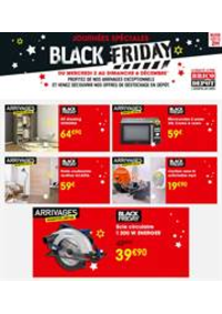 Prospectus Brico Depot VILLETANEUSE : Offre Brico Dépôt Black Friday