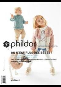 Prospectus Phildar distributeur l'Isle d'Adam : Tricotez Bébés