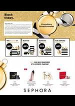Promos et remises Sephora : Offre Sephora Black Friday