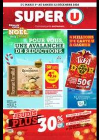 Prospectus Super U MANDEURE : POUR VOUS, UNE AVALANCHE DE RÉDUCTIONS