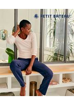 Prospectus Petit Bateau : Collection T-Shirt & Débardeur / Femme