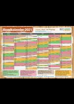 Services et infos pratiques Do it + Garden : Mondkalender 2021