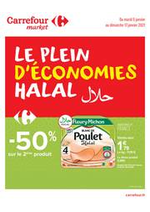 Prospectus Carrefour Market : Le plein d'économies Halal