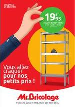Promos et remises  : Catalogue Mr Bricolage