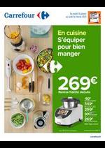 Prospectus Carrefour : En Cuisine, s'équiper pour bien manger