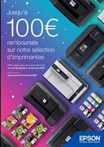 Promos et remises  : Jusqu'à 100€ remboursés