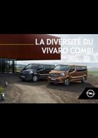 Guides et conseils Opel Namur : Vivaro Combi