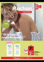 Prospectus Auchan : Et la beauté coule de source !