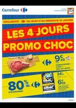 Prospectus Carrefour : LES 4 JOURS PROMO CHOC