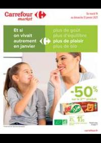 Prospectus Carrefour Market LES ROUSSES : Manger Sain
