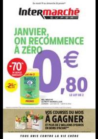 Prospectus Intermarché Super Lugrin : JANVIER, ON RECOMMENCE À ZÉRO