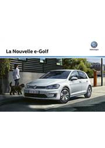 Prospectus Volkswagen : Volkswagen e-Golf