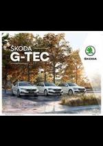 Promos et remises  : Catalogue Škoda G-TEC