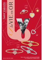 Prospectus Auchan : Bijouterie IV St Valentin