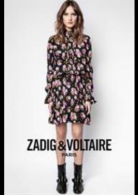 Prospectus Zadig et Voltaire PARIS 21 cours de Vincennes : Collection Robes