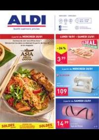 Prospectus Aldi JODOIGNE : Folder Aldi