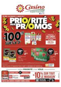 Prospectus Supermarchés Casino PANTIN : Priorité aux promos