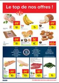 Promos et remises Carrefour Market TIENEN : folder Carrefour Market