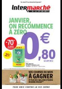 Promos et remises Intermarché Super Villeneuve le Roi : JANVIER, ON RECOMMENCE À ZÉRO
