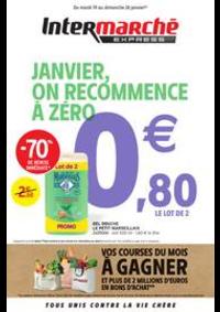 Promos et remises Intermarché Express Paris 9 - Rue bleue : JANVIER, ON RECOMMENCE À ZÉRO