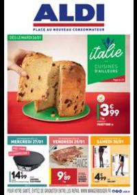Prospectus Aldi Charenton-le-Pont : L'italie - Cuisines d'ailleurs