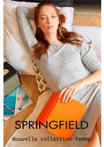 Prospectus Springfield : Nouvelle collection femme