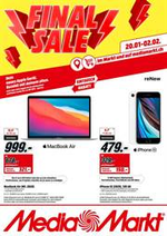 Promos et remises Media Markt : Final Sale