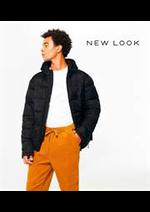 Prospectus New look : Nouveautés / Homme