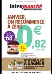 Prospectus Intermarché Super Mery-sur-Oise : JANVIER, ON RECOMMENCE À ZÉRO